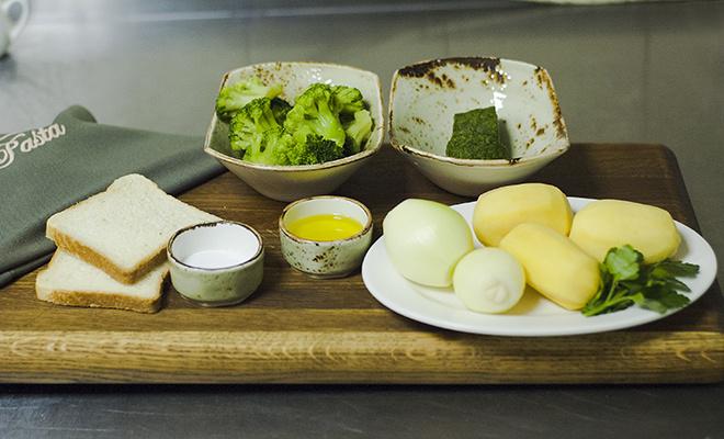 Крем-суп из брокколи рецепт