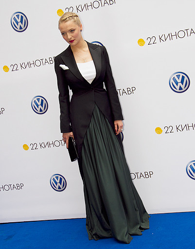 Член жюри, актриса Екатерина Вилкова