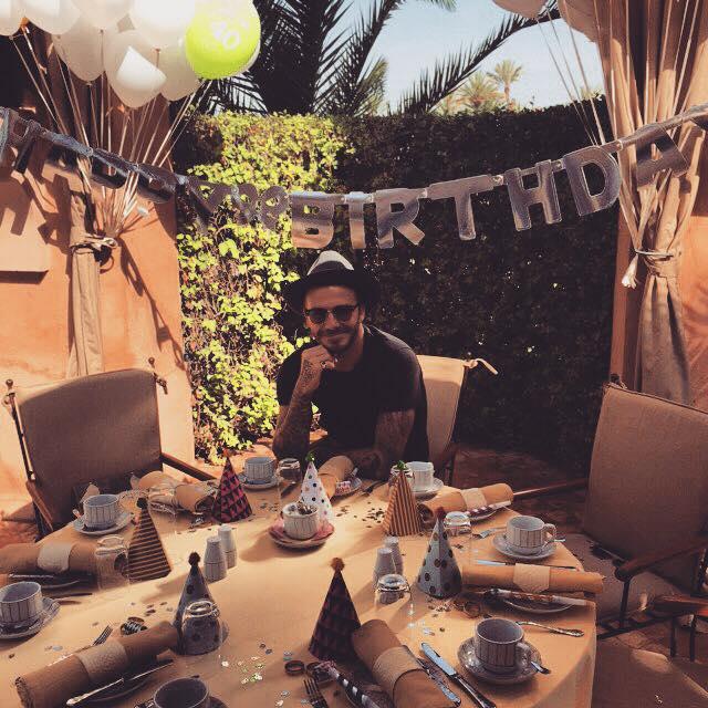Дэвид Бекхэм в Instagram