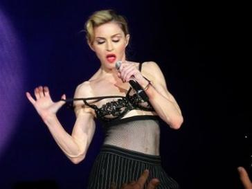 Мадонна (Madonna) шокировала своих поклонников