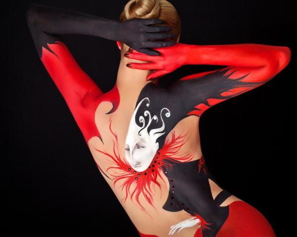 Как рисовать по телу