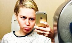 Майли Сайрус поделилась ужасающими снимками операции
