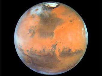 Планета Марс. Фото NASA