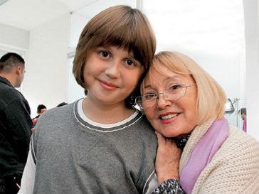 Сын Анастасии Заворотнюк Майкл дебютировал в кино