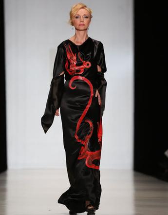 Mercedes-Benz Fashion Week: коллекция Елены Супрун весна-лето 2013
