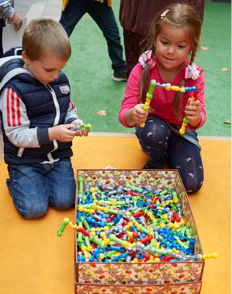 Подготовка к школе в BOSCO Bambino ВЕСНА и ГУМе | галерея [2] фото [1]