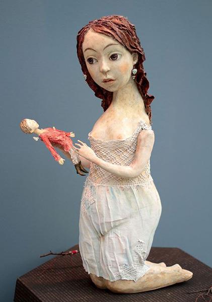 Светлана Резанова, Татьяна Серых, Выставка «Тайна кукольного шкафа», фото