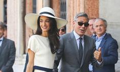 Жена Джорджа Клуни поменяла фамилию