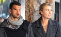 Стильная пара: Маша Шарапова на прогулке с бойфрендом