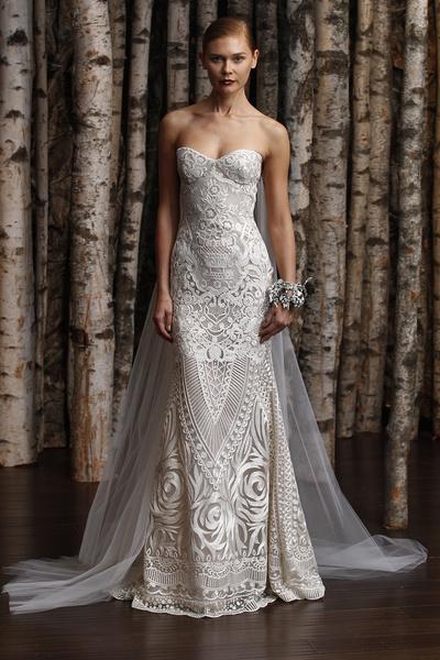 ЗАМУЖ НЕВТЕРПЕЖ: 10 самых красивых свадебных коллекций сезона | галерея [3] фото [11]