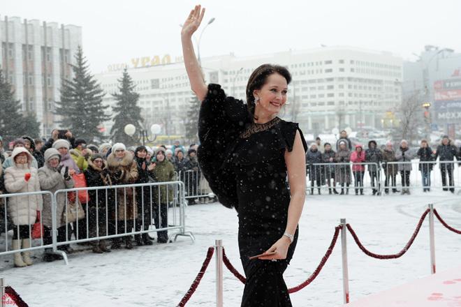 Ольга Кабо на фестивале Золотой витязь в Перми