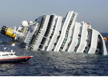 Спасатели продолжают искать пассажиров затонувшего лайнера