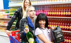 Супермаркет Chanel был разграблен после показа