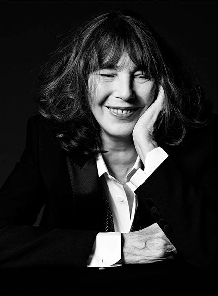 Джейн Биркин в рекламной кампании Saint Laurent