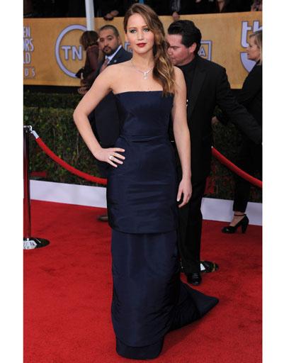 Дженнифер Лоуренс (Jennifer Lawrence) на премии SAG Awards 2013