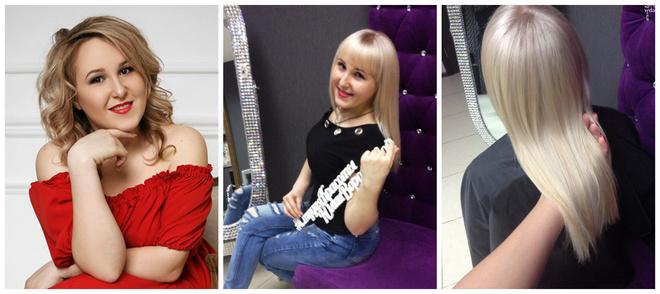 Победительница конкурса «Стань шикарной блондинкой» в Красноярске