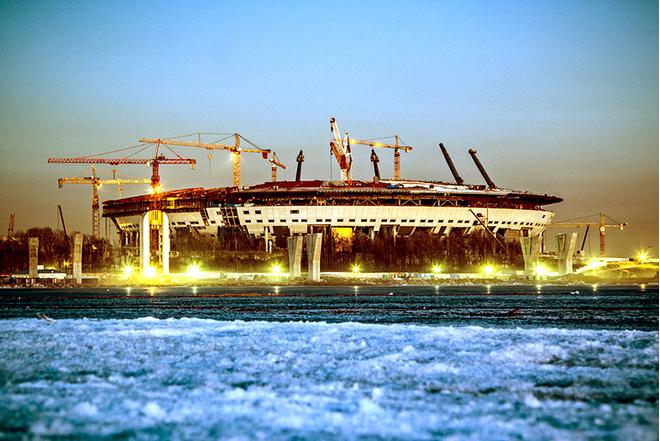 стадион на крестовском острове фото 2016 дата открытия, когда откроется