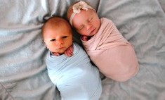 До слез: фото близнецов, один из которых прожил 11 дней