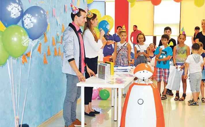 День рождения робота Тори, лабораториум, лабораториум ростов