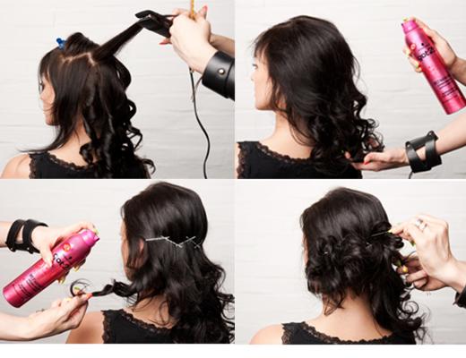 Как сделать объемные волосы с помощью косичек - Leksco.ru
