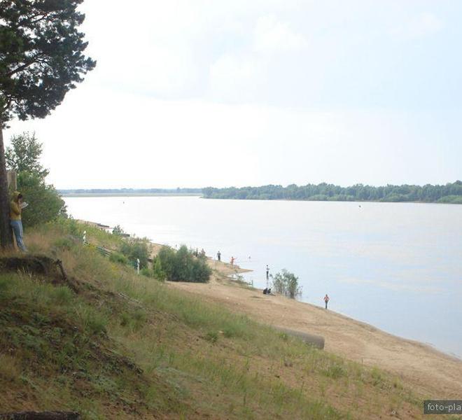 Отдых, озера, река, пляж, Чернолучье