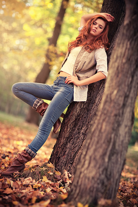 фотосессии осень