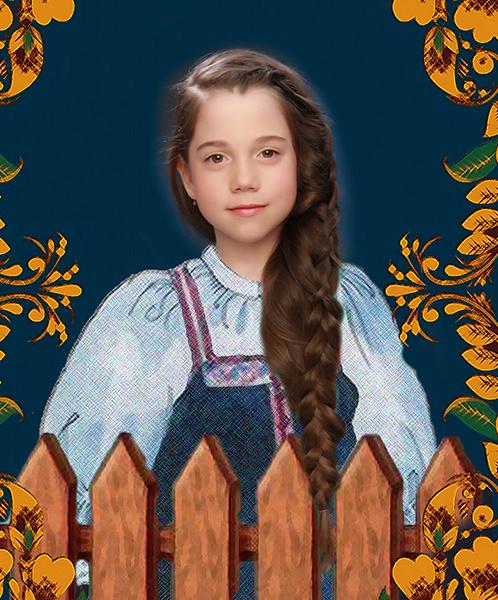 Мария Шевчик, «Уральская краса – русская коса», фото