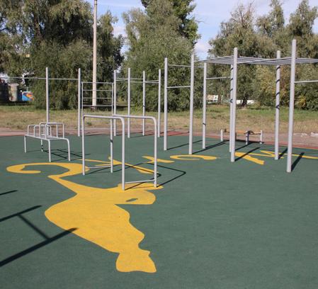 Омск, тренажеры, бесплатные тренажеры, спортивные площадки, BMX