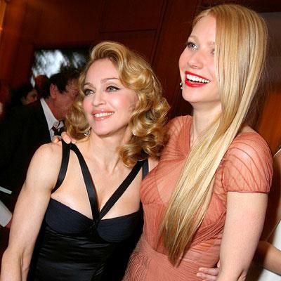 Звездные подруги Мадонна и Гвинет Пэлтроу