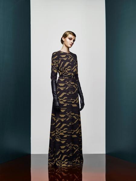 Хозяйка Медной горы: новая pre-fall коллекция A LA RUSSE Anastasia Romantsova   галерея [2] фото [25]