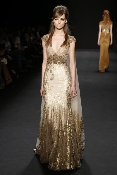 Самые роскошные вечерние платья Недели моды в Нью-Йорке | галерея [1] фото [1]
