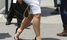 Ким Кардашьян изуродовала ступни