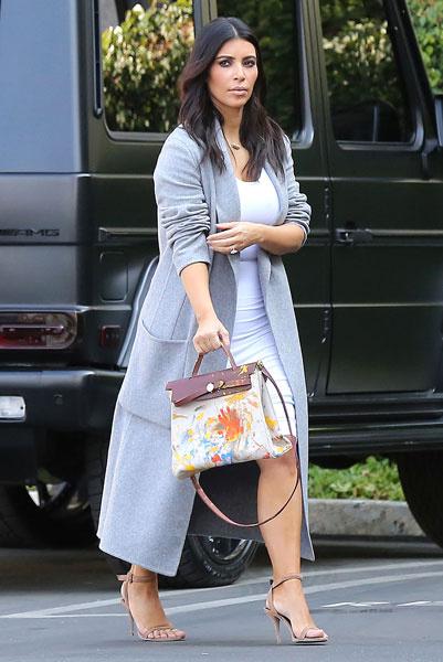 Ким Кардашьян в Лос-Анджелесе