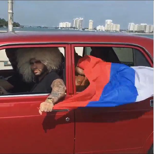 Репера Тимати арестовали видео