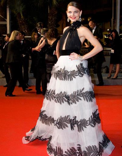 Елизавета Боярская на Каннском кинофестивале - 2010