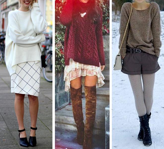 Модные свитера 2015 фото