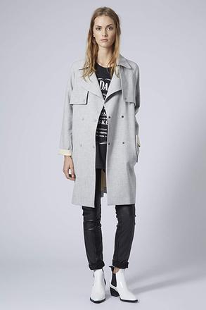 Пальто с укороченным рукавом