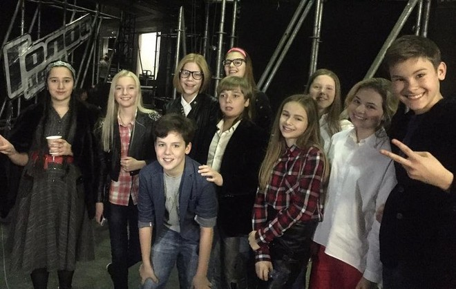 Команда Леонида Агутина на шоу «Голос. Дети-3»