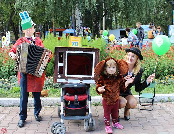 Маргарита Пушкина, Парад колясок в Екатеринбурге 2016, фото