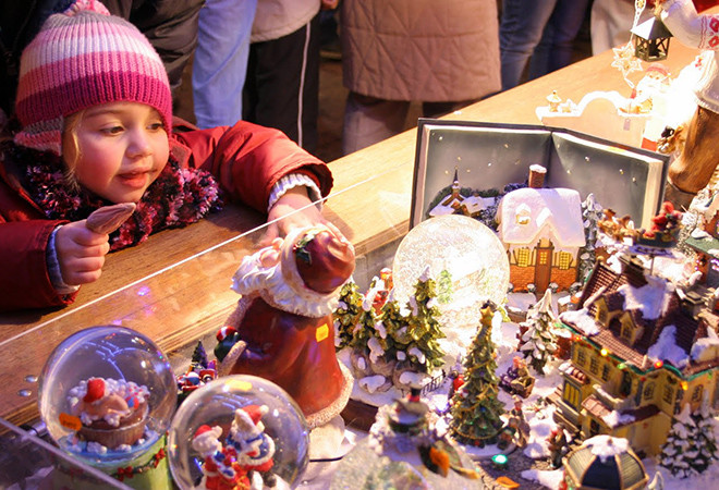 Рождественская ярмарка у ТЮЗа