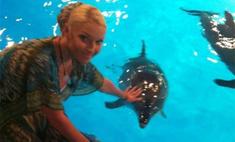 Анастасия Волочкова: «Дельфины безмерно добрые. Я в восторге!»