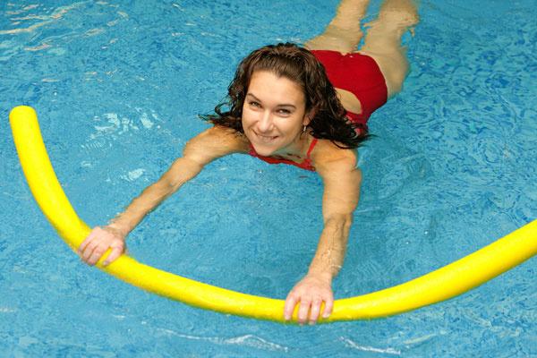 Плавание с вытянутыми руками