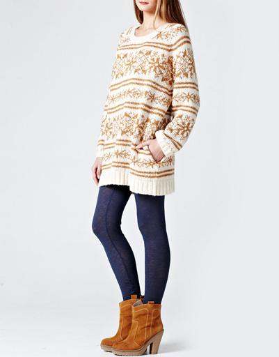 Платье-свитер Ganni
