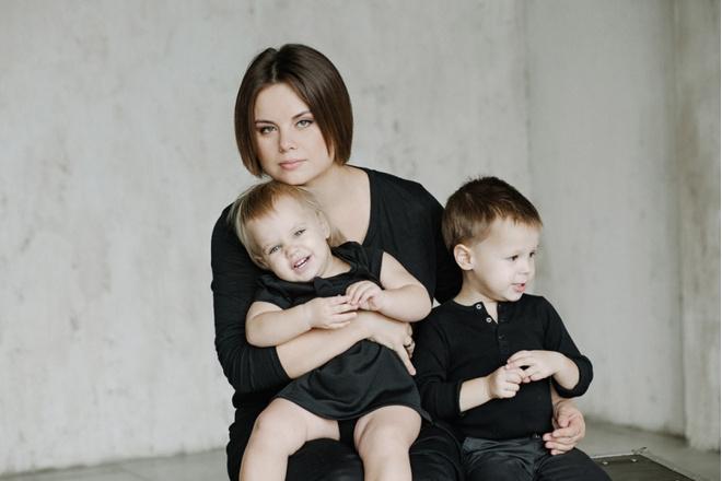 Быть мамой: фотопроект Анюты Антоновой