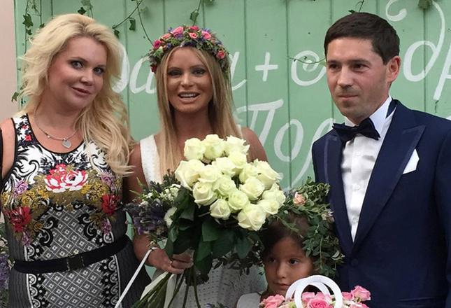 Свадьба Даны Борисовой фото