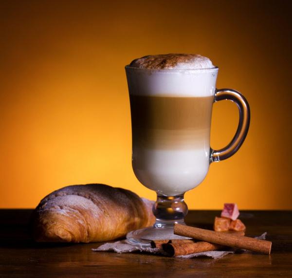Как приготовить кофе латте дома