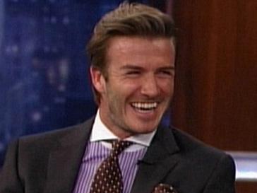 Дэвид Бекхэм (David Beckham) на днях посетил шоу Джимми Киммела (Jimmy Kimmel)