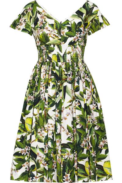 Платье Dolce & Gabbana, весна-2015