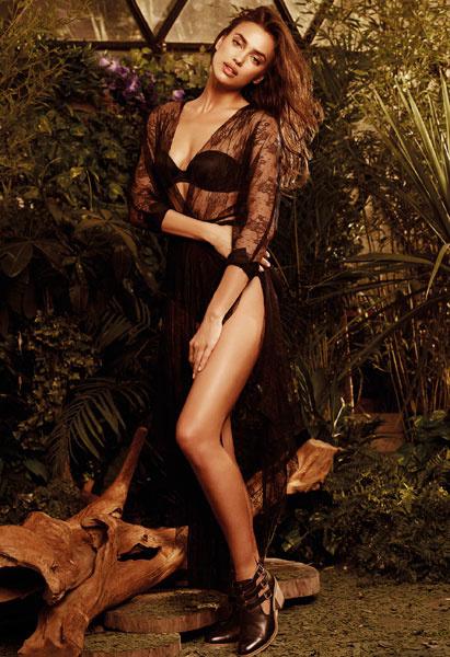 Ирина Шейк в рекламной кампании XTI весна-2015
