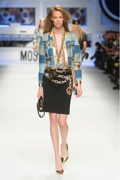 Показ Moschino на Неделе моды в Милане | галерея [4] фото [23]